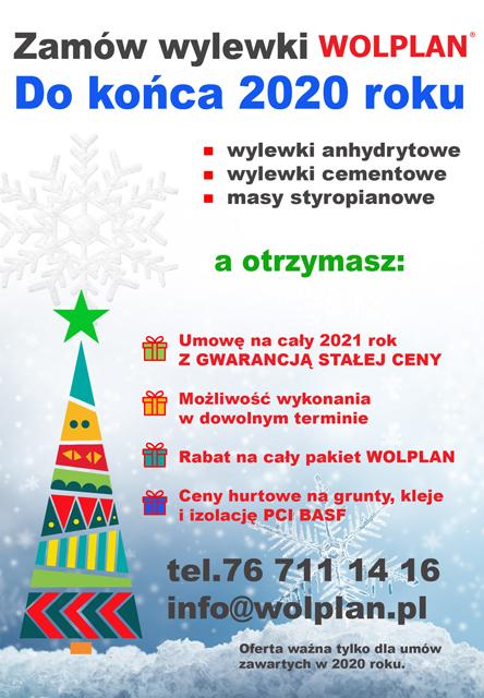 promocja świąteczna zamów wylewki anhydrytowe